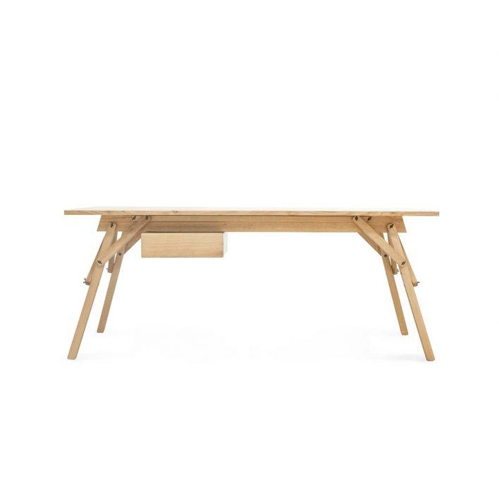 Ubikubi Atelier-Desk-varnished-oak-with-drawer-min