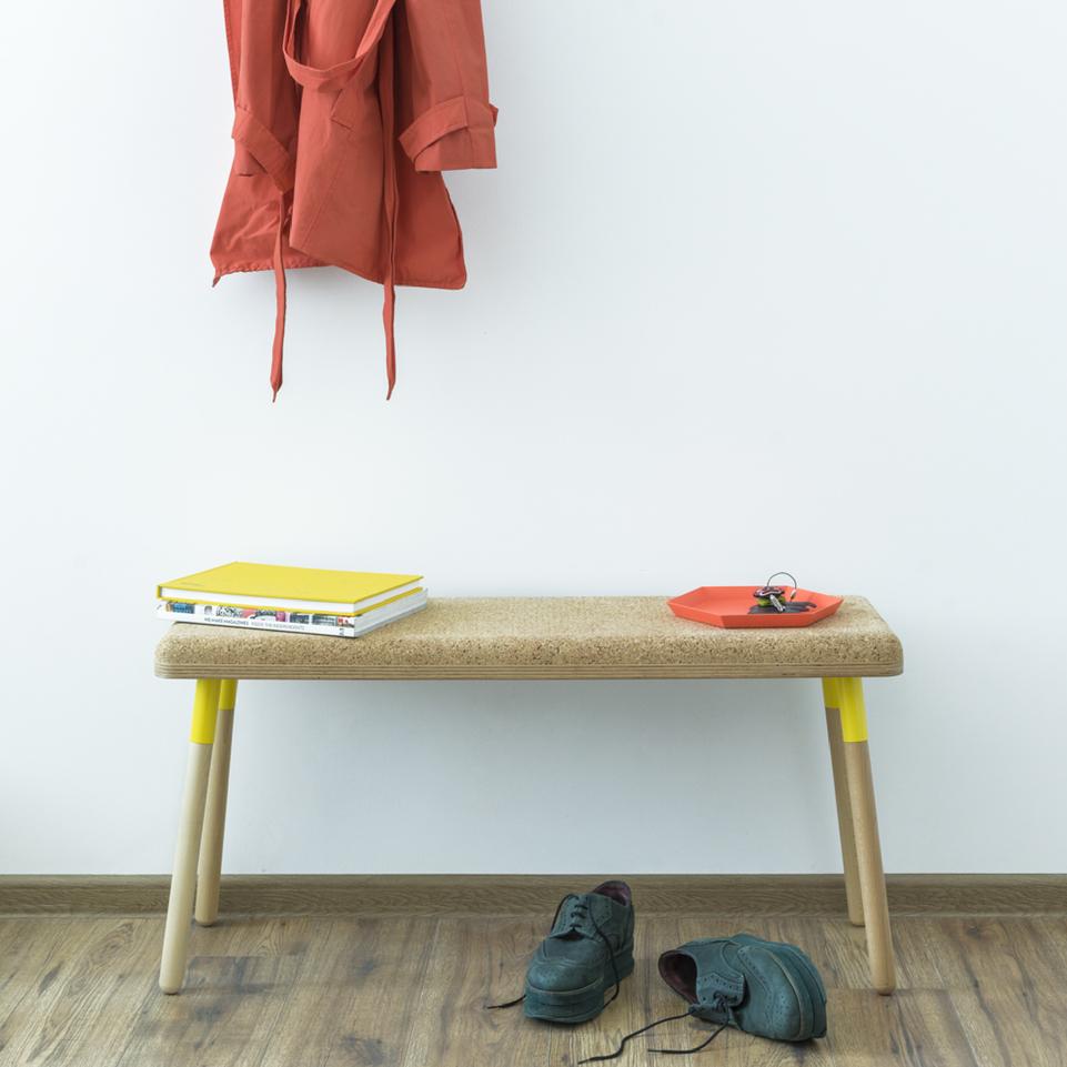 Ubikubi Marco-Bench Yellow