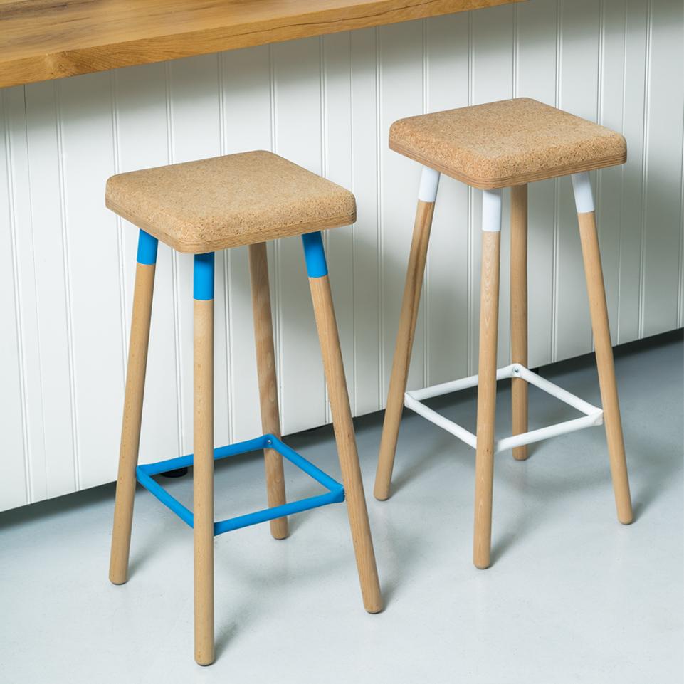 Ubikubi Marco bar stool low