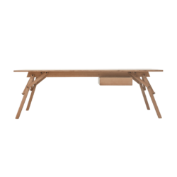 atelier desk with drawer