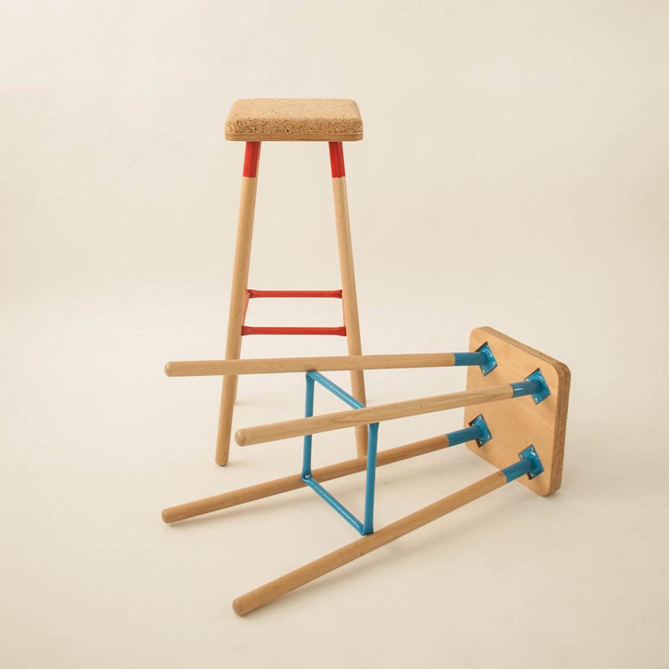 Ubikubi Marco bar stool