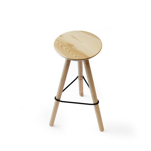 Ubikubi stool Isometric view