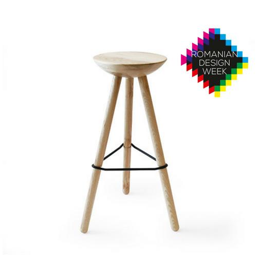 Ubikubi Tribut Stool for Romanian Design Week